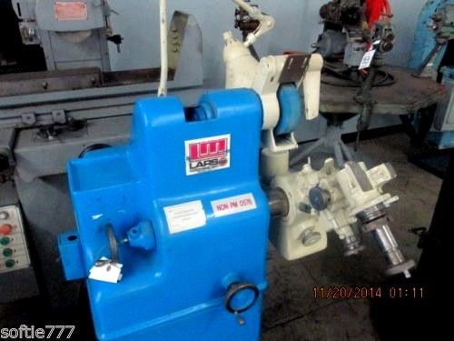 LARS GORTON UNIVERSAL TOOL AND CUTTER GRINDER WITH COLLETS, DIAMOND WHEELS