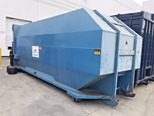 NEDLAND INDUTRIES NC-200 STATIONARY WASTE COMPACTOR W 40YARD CONTAINER RECEIVER