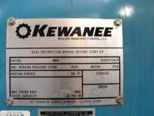 KEWANEE 400HP 125 PSIG 12400 MBH BOILER MODEL K3W-400 / WITH EGR SYSTEM (OC294)