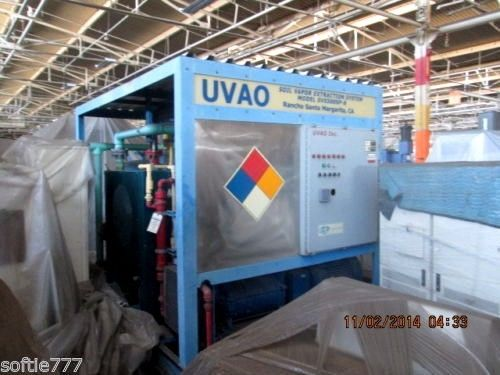 NEW 500 CFM UVAO SOIL VAPOR EXTRACTION SYSTEM / NEVER INSTALLED./FUEL ENRRGY