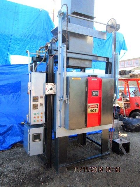 GM 1300 DEGREE ATMOSPHERIC TYPE BURN OUT OVEN / FURNACE 36