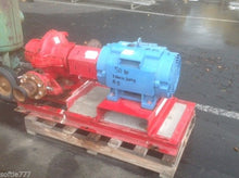 Bell and Grossett 50 HP Double-suction, base-mounted Series HSC3 Pump -