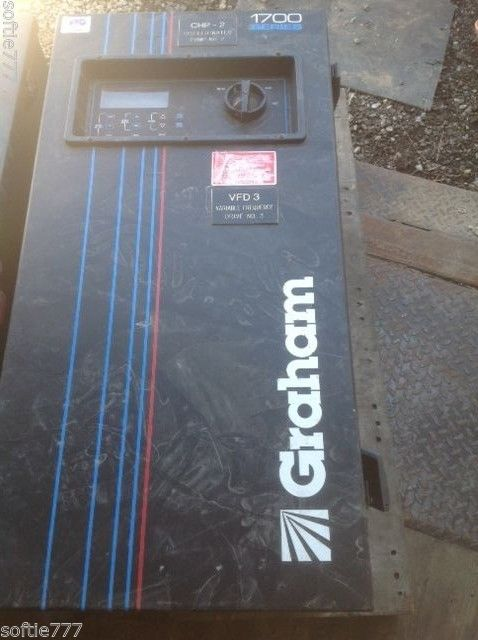 Graham Adjustable Frequency Drive 1703 Series 7.5 through 100 Amp