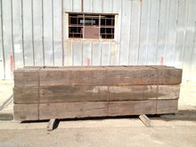 "LOT OF VINTAGE TIMBER 12"" X 12"" X 10"" LONG / INTERIOR DECOR (OC713)"
