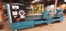 "LANSING G-28 HOLLOW SPINDLE ENGINE LATHE 9 1/4"" THROUGH HOLE 23""/37"" X 120"""