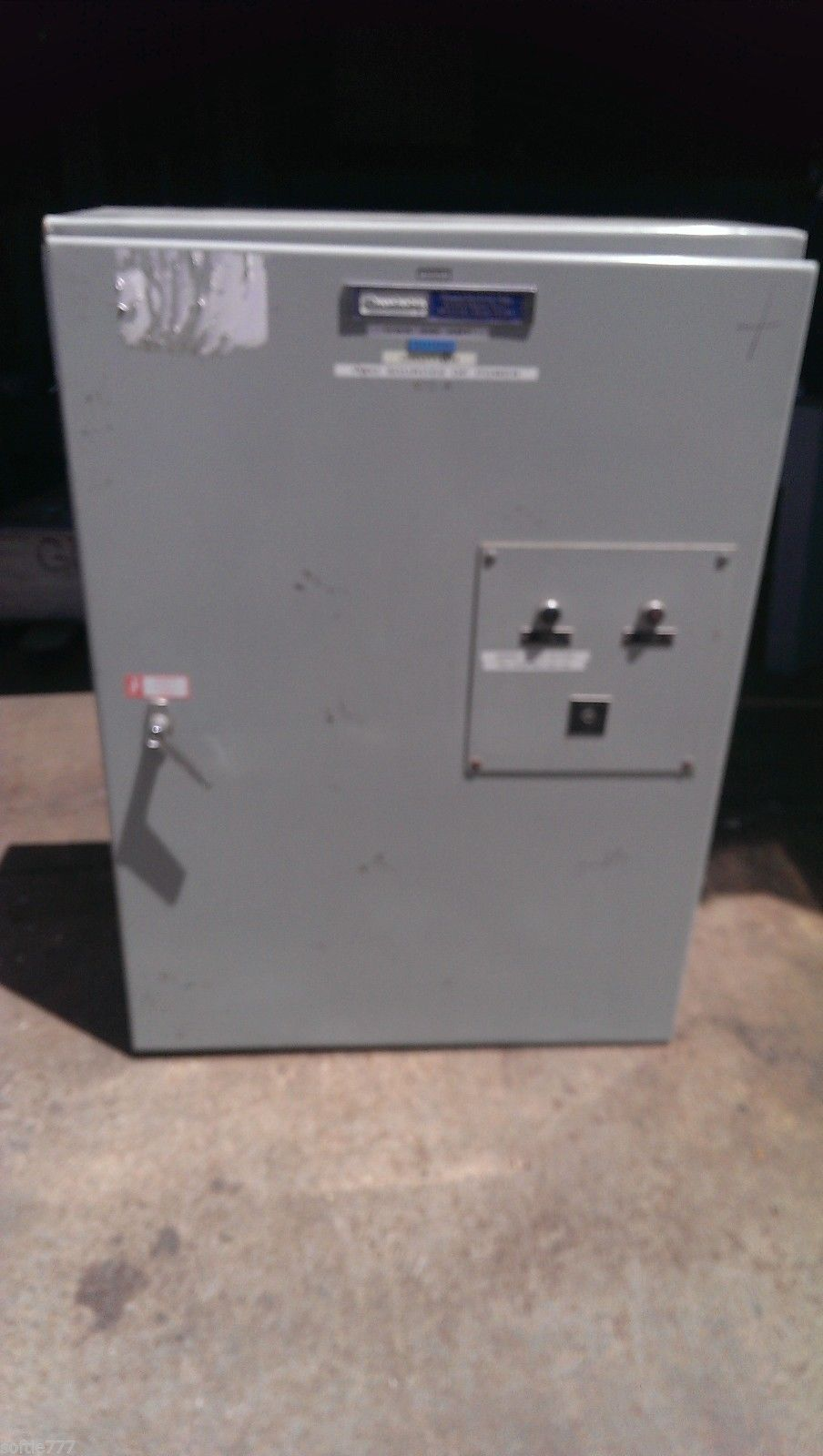 Russelectric 150 Amp Automatic Transfer Switch RMT-1503CE 3 Ph 3W
