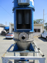 TORIT DONALDSON MODEL 162 CARTRIDGE SS DUST COLLECTOR W MOTORIZED HOPPER FEEDER
