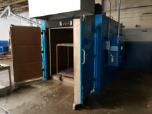 LATE! BAKER FURNACES INC 6' X 6' X 6' ID ELECTRIC WALK IN OVEN 800 DEGREE EO666