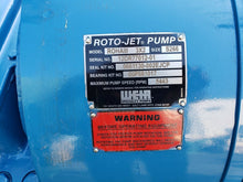 Unused Weir Specialty Pumps 100 HP Roto-Jet 3x2 ROHA III Pump Size S266