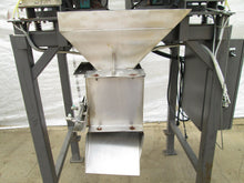 OHLSON / AUTOBAG MODEL 2MB LINEAR WEIGHER / BAG METERING MACHINE W/SYNTRON FEEDS