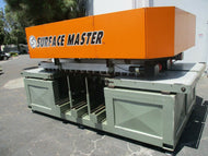 CLEAN AND LATE MODEL SURFACE MASTER MODEL BF-400 MULTI HEAD SANDING MACHINE
