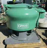 BARRETT CENTRIFUGALS / OIL EXTRACTOR WITH DRUMS FOR SEPARATING CHIPS CENTFIFUGE