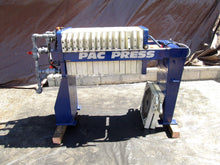 "PAC-PRESS MODEL 470 FILTER PRESS 18"" X 13 SEGMENTS 36.2 SURFACE AREA (OC1019)"