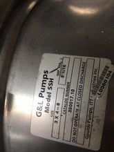 G & L Pump Model SSH 3 x 4 - 8 Stainless Steel Centrifugal Pump 60HP, 3550 RPM,