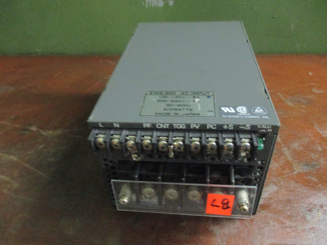 NEMIC-LAMBDA EWS POWER SUPPLY MODEL EWS300-24, 24V-14A_LOOKS GREAT_DEAL O.B.O._$