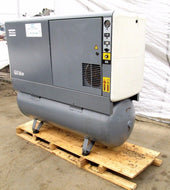 2002 ATLAS COPCO MODEL GX 18 FF OIL INJECTED ROTARY AIR COMPRESSOR W/ 35K HOURS