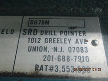 DG76M SRD Drill Grinder 120V Point Sharpener_POWERS ON & WORKS FINE!