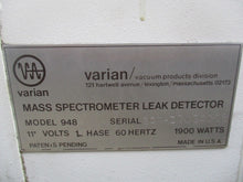 VARIAN AUTO-TEST 948 LEAK DETECTOR_LOOKS GREAT_BEST DEAL_$$$_FCFS!