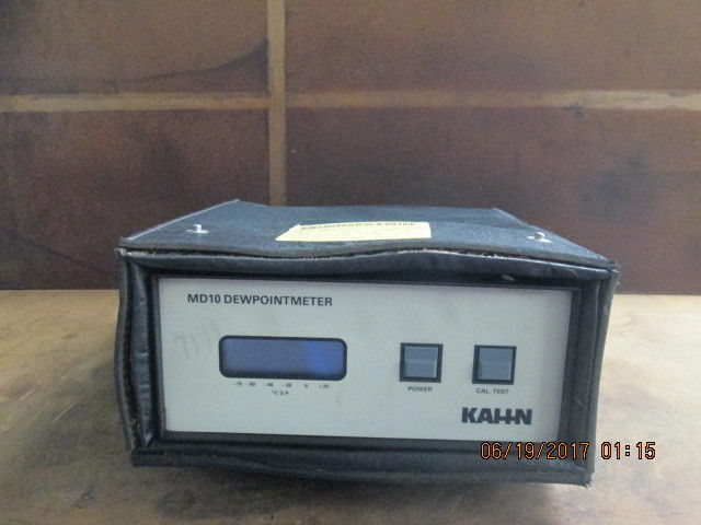 Kahn MD10SB DEWPOINTMETER_AS-IS_FOR PARTS_WITH BAG_UNIQUE_GOOD_$$$_