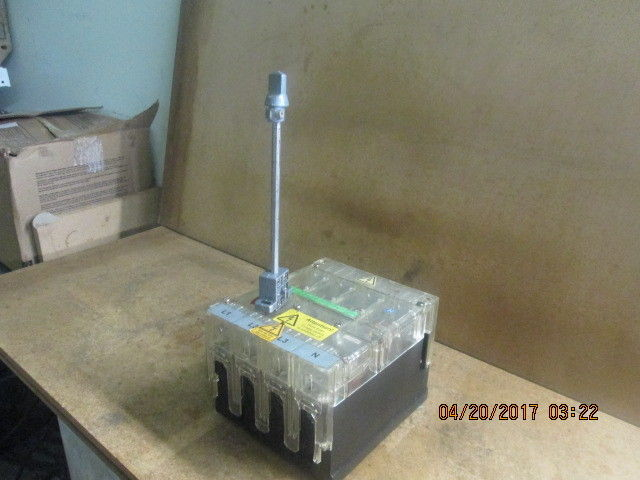 Moeller N64-63 Main switch / 3-phase circuit breaker_USED_AS-IS