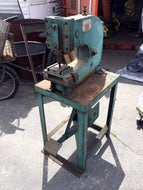 "WHITNEY-JENSEN 8 TON / 12"" THROAT KICK PUNCH FOOT PRESS / REF (OC685)"