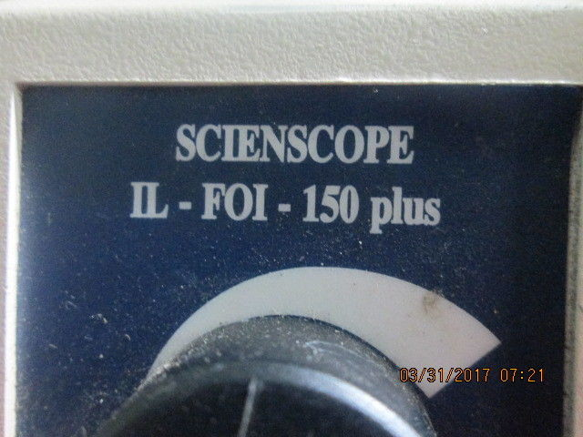 Scienscope IL-FOI-150 AS-IS FOR PARTS