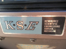 KEWAUNEE SCIENTIFIC ENGINEERING K.S.E STAINLESS STEEL GLOVE BOX_AS-IS_LOOKS GOOD