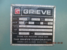 "GRIEVE MODEL AA-500 ELECTRIC BATCH DRYING OVEN 160 DEGREES F 24"" X 24"" X 24"" ID"