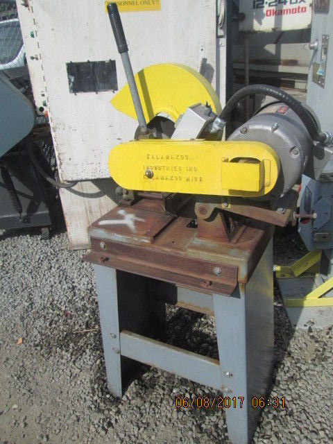 KALAMAZOO INDUSTRIES SAW WITH MOTOR_USED_GOOD VALUE_$$$_MAKE OFFER_