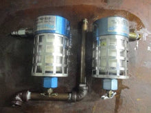 "LOT OF 2 PARKER 92-810 1/4"" NPT PORTS BALSTON PRESSURE FILTER HOUSINGS_NICE!~"