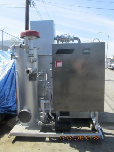 BAKER FURNACE MODEL SX200E THERMAL OXIDIZER / REMEDIATION UNIT 200 CFM