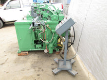 "PINES MODEL DYNACUT #30 TUBE CUTOFF MACHINE W/ 20 FOOT FEEDER 3"" CAPACITY"