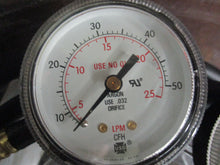 MILLER SMITH OM-263 230B PRESSURE REGULATORS W/TRERICE PRESSURE GAUGE 52-2216_$$
