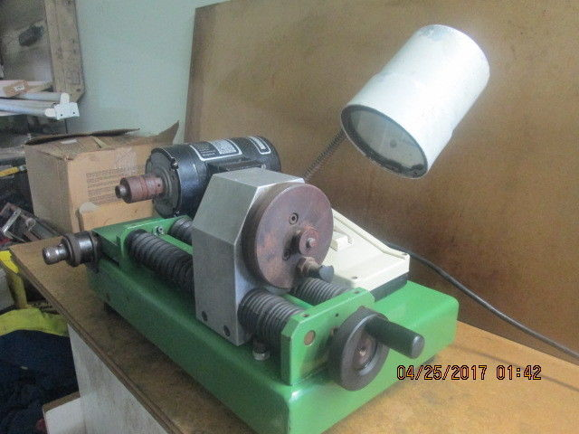 SRD SHARPENER HDS 75_POWERS ON_ONLY MOTOR WORKS_GOOD VALUE!