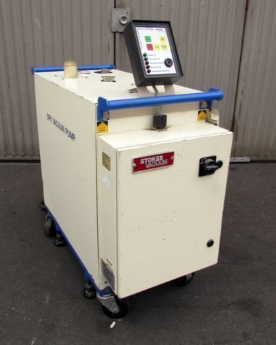 STOKES Model 540-VEC Vertical Dry Vacuum Rotary Pump With Controller