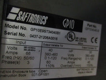 SAFTRONICS GP10E9ST34040B1 GP10 GENERAL PURPOSE OPEN LOOP VECTOR AC DRIVE_DEAL_$