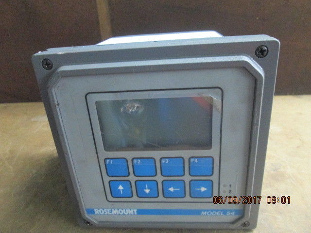 ROSEMOUNT 0054PH/ORP Analytical Controller Analyzer_USED_LOOKS GREAT_BEST VALUE$