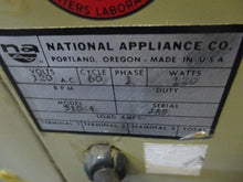 NATIONAL APPLIANCE NAPCO MODEL 310 INCUBATOR OVEN_LOOKS NICE_FOR PARTS_BEST$$$!