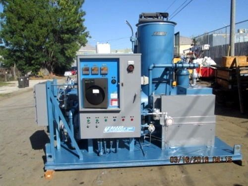 BAKER MDL. SX 200 THERMAL / CATALYTIC OXIDIZER 200 CFM REF #(OC893)
