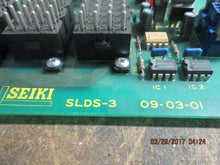 SEIKI SLDS-3 09-03-01 CNC CIRCUIT BOARD_USED