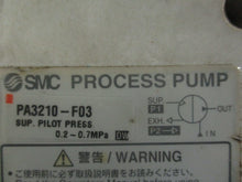 SMC PROCESS PUMP PA3210-F03_TAKEN FROM A WORKIN_MACHINE!~GREAT VALUE ITEM_$$$!~