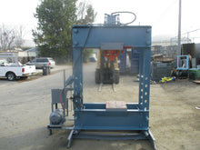 NUGIER 150 TON H FRAME HYDRAULIC PRESS