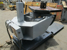 UNIQUE MODEL UPC.25 WELDING POSITIONER 2500 LB. CAPACITY V-SPEED MOTORIZED TILT