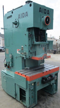 NICE 88 TON AIDA MODEL C1-8(1) GAP FRAME PUNCH PRESS W/ AIR CLUTCH 40 - 110 SPM