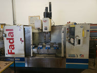 2000 FADAL MODEL 5020A VMC 7500 RPM SPINDLE 22.5HP CNC MILLING MACHINE