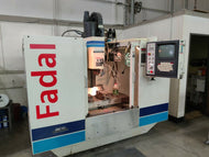 1995 FADAL VMC40 WITH FULL 4TH AXIS IN XLNT CONDITION + TOOLING INCLUDED