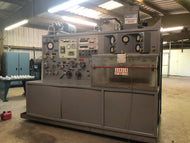 VICKERS MDL 917013-A 100HP UNIVERSAL HYDRAULIC TEST STAND/HIGH SPEED GEAR BOX