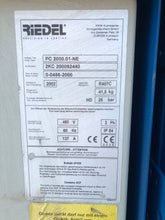2002 RIEDEL PC 2000.01-NE WATER CHILLER EXCELLENT CONDITION 30 TON CAPACITY