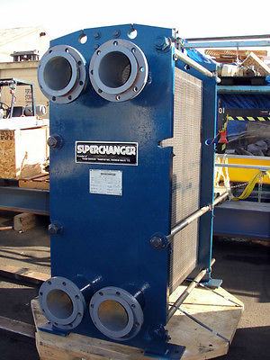 1998 TRANTER SUPERCHANGER MODEL UFX-51-5-HP-193 /1131 SQ.FOOT SS HEAT EXCHANGER