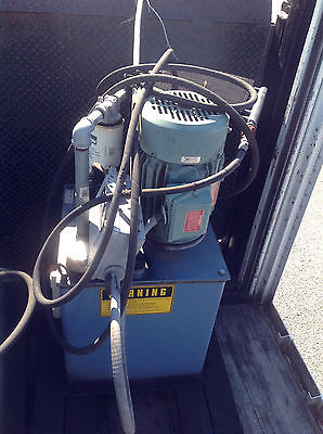USED 5HP HYDRAULIC POWER UNIT / 230/460 3 PHASE